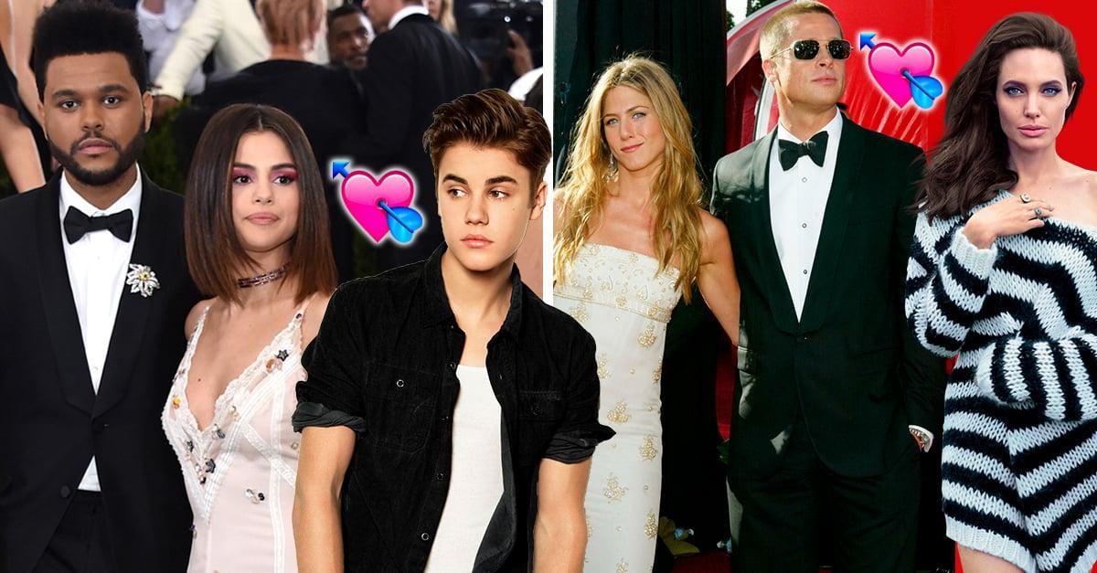 Estos son los triángulos amorosos más sonados en Hollywood