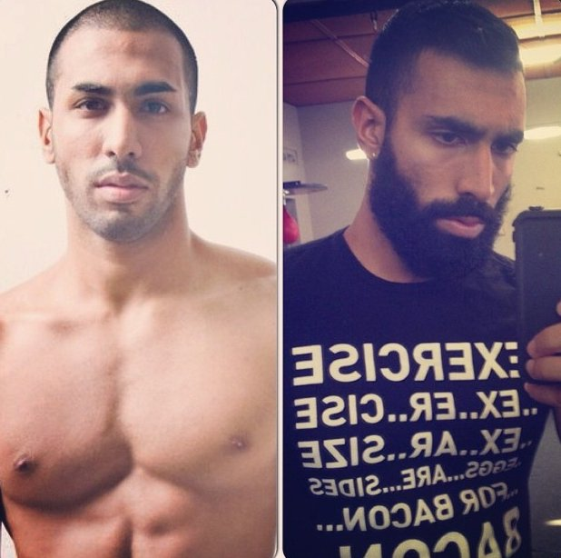 Hombres que demuestran que la barba es el mejor atractivo
