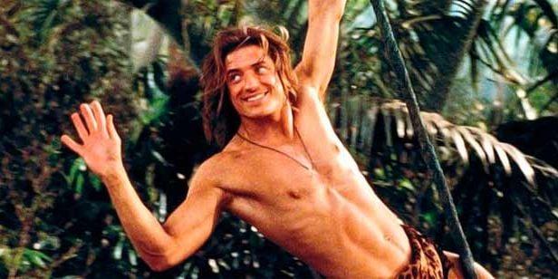 escena de la película George de la selva