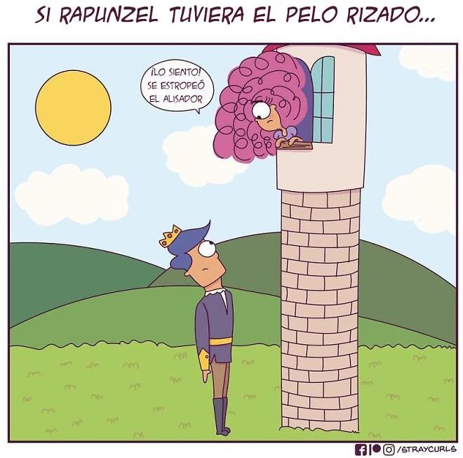 ilustración de un príncipe visitando a Rapunzel