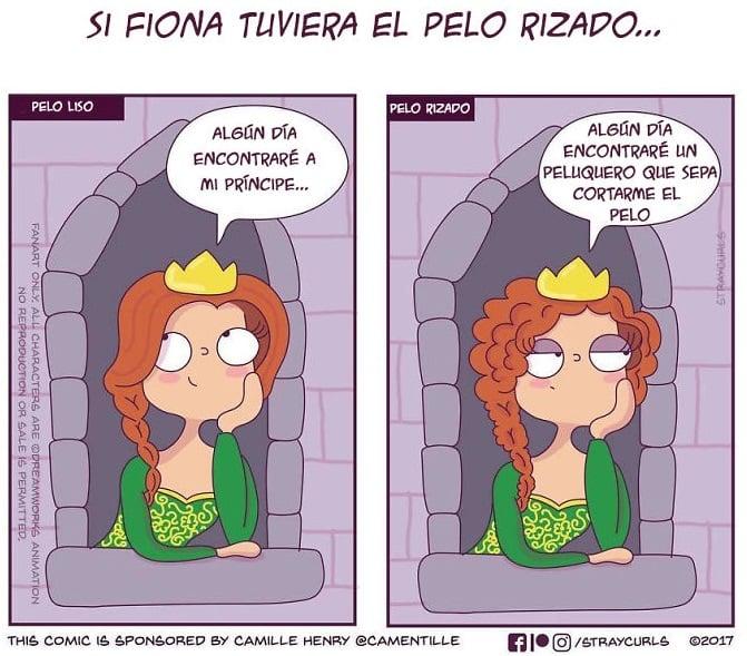 ilustración de Fiona de Shrek
