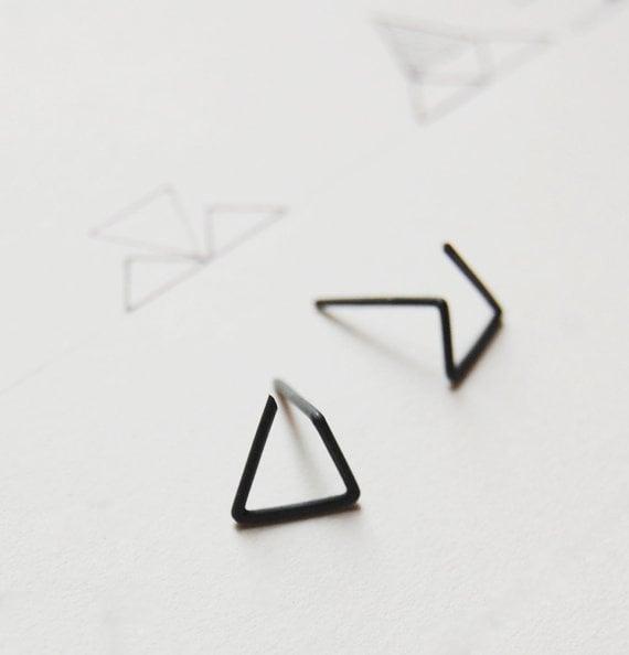 pendientes de triangulo
