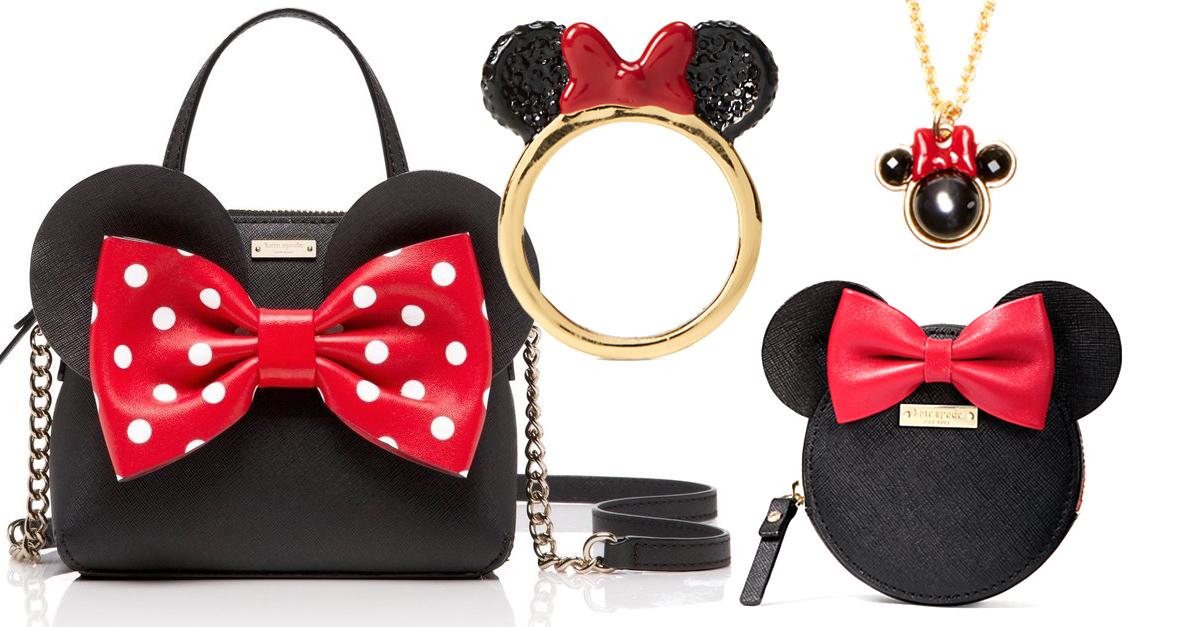 Kate Spade lanza línea de bolsos y accesorios inspirados en Minnie Mouse
