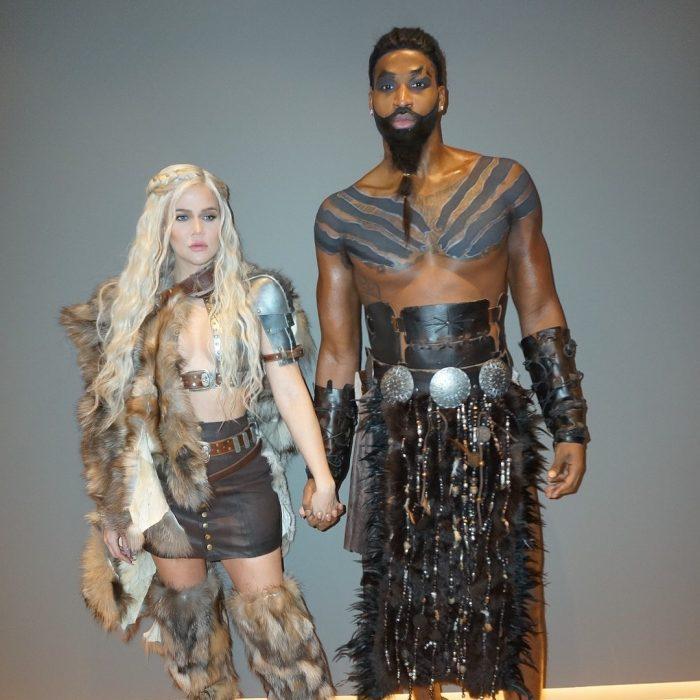 Khloé Kardashian y Tristan Thompson de Daenerys Targaryen y Khal Drogo de Game of Thrones