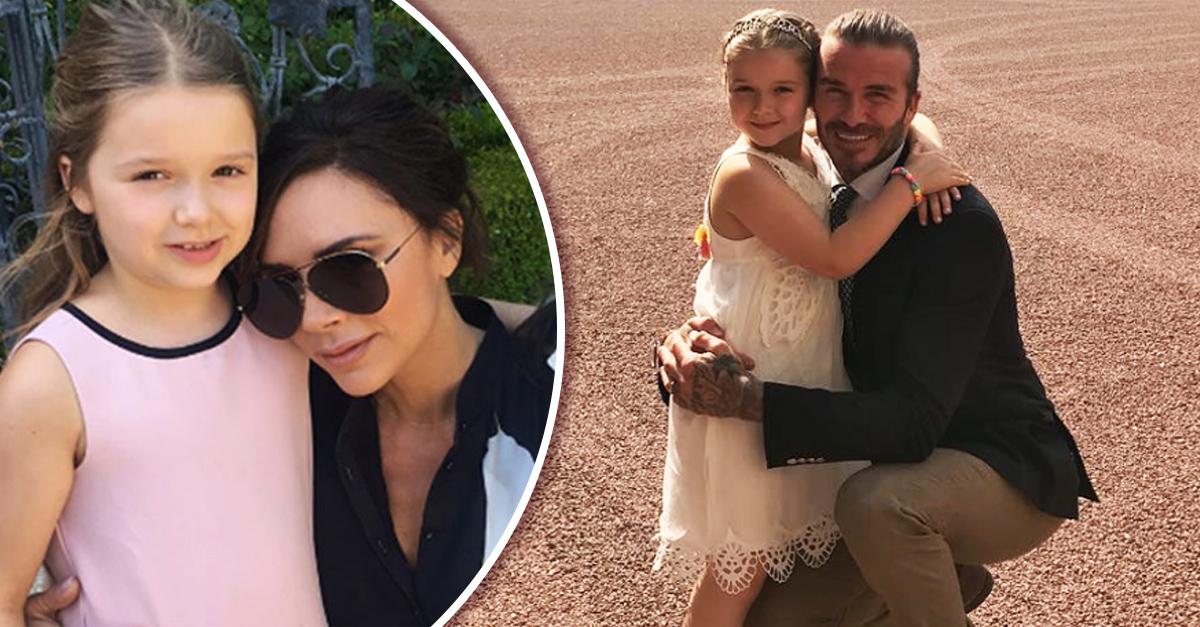 La hija menor de los Beckham recibió críticas por su peso y sus padres están furiosos
