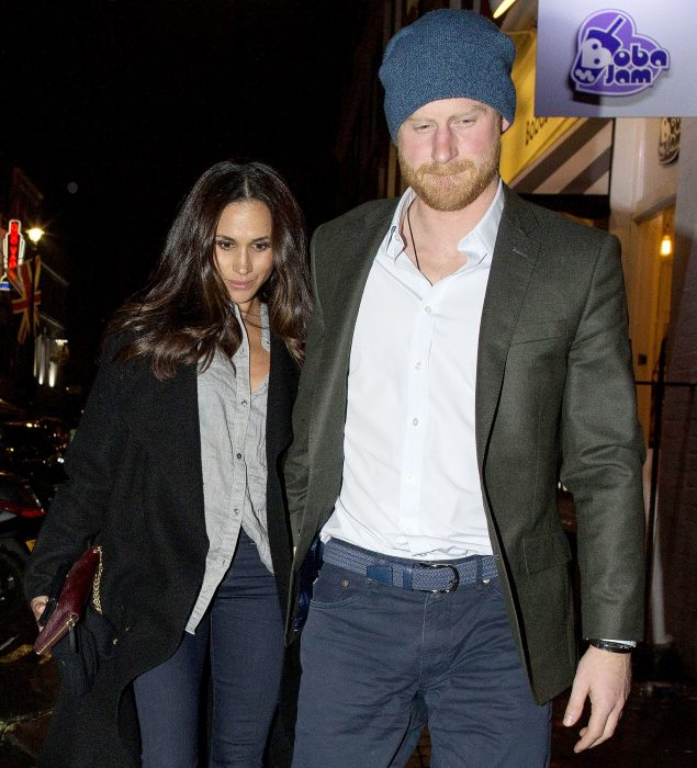 La pareja real Meghan Markle y Princípe Harry 2