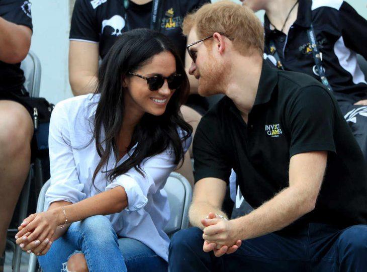 La pareja real Meghan Markle y Princípe Harry