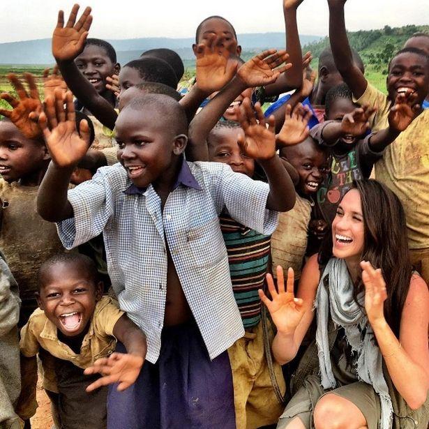 Meghan Markle es humanitaria