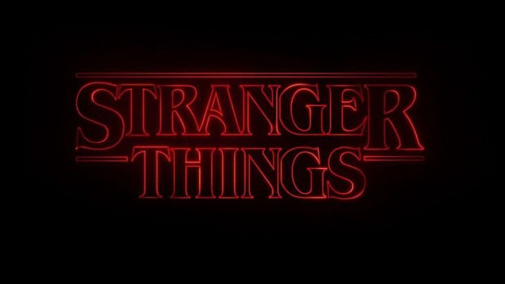 logotipo de stranger things