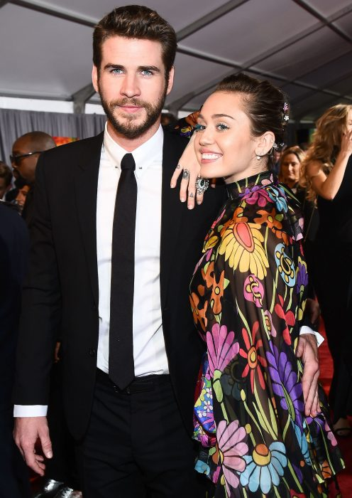 Miley Cyrus y Liam-Hemsworth están casados (1)