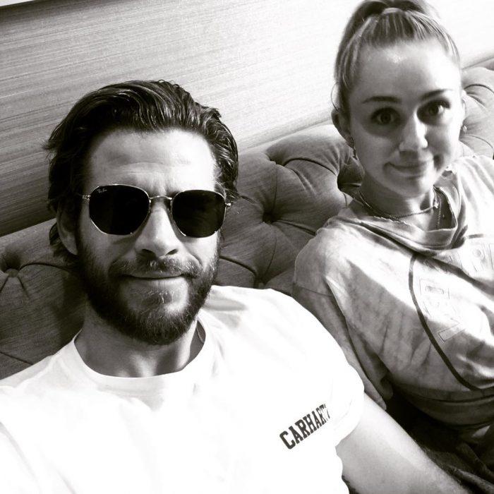Miley Cyrus y Liam-Hemsworth están casados