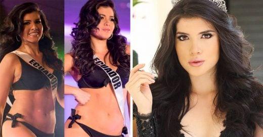 Miss Ecuador no encaja en los estándares y es llamada 'gorda' en Miss Universo