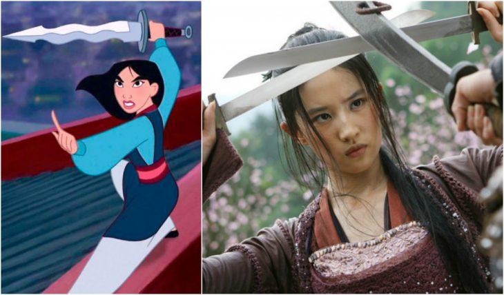 Mulan actriz liu yifei