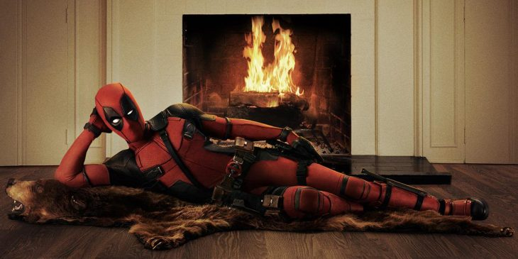 Ryan Reinolds interpretando a deadpool 2