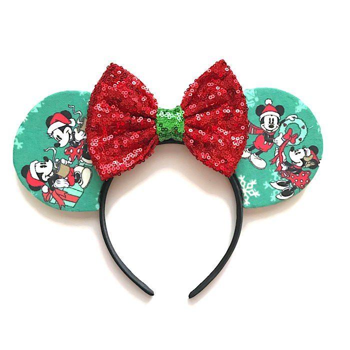 Orejas de Minnie que Disney acaba de lanzar para celebrar navidad