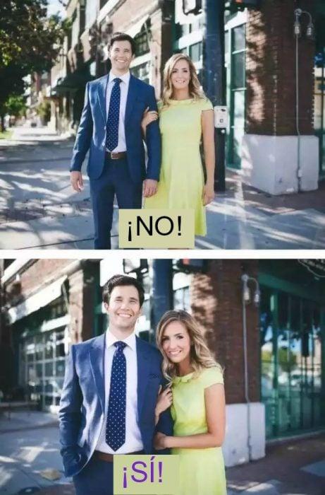 poses correctas parejas