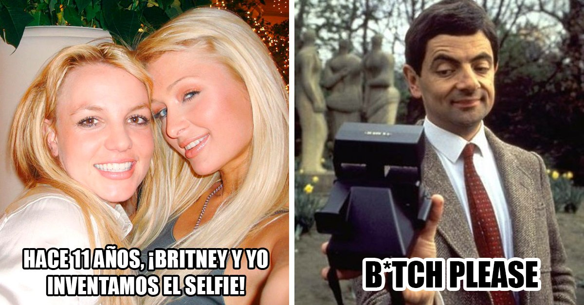 Paris Hilton jura inventó la 'selfie' junto a Britney hace 11 años; ¡Twitter le calla la boca!