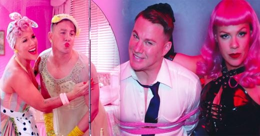 Pink presenta su nuevo video Beautiful Trauma y nos dejó confundidas la actuación de Tatum