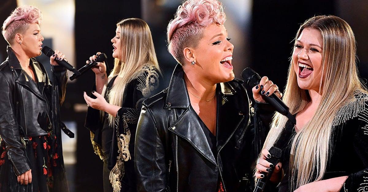 Pink y Kelly Clarkson abren los AMA con un dueto asombroso