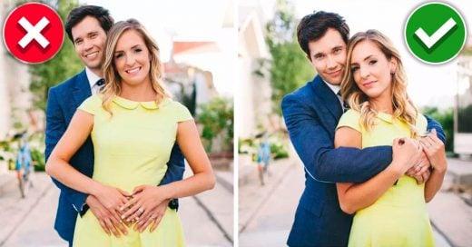 8 Posiciones correctas para una increíble sesión de fotos en pareja