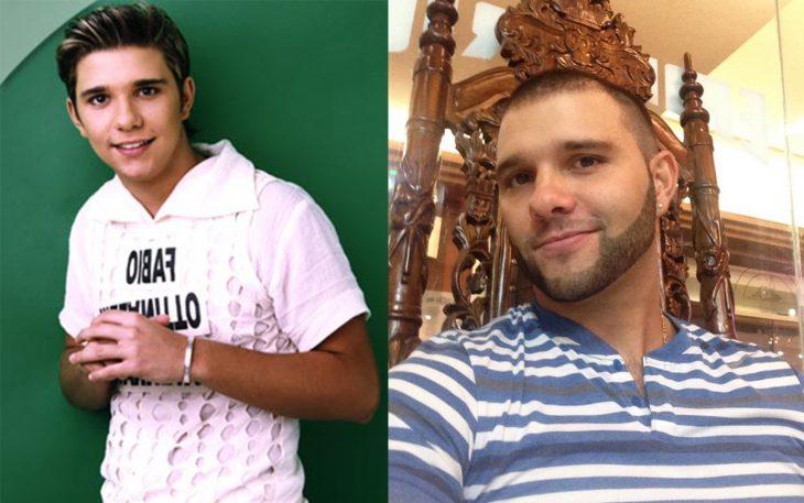 Fabio ex integrante del grupo uff antes y después