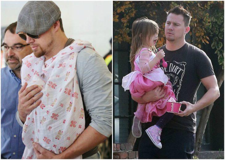 hombre cuidando de su hija