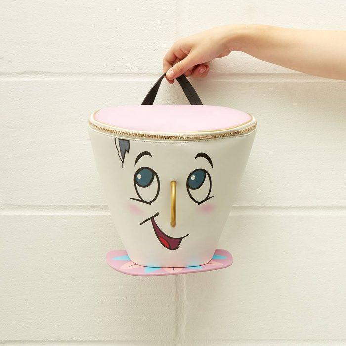 bolso en forma de taza