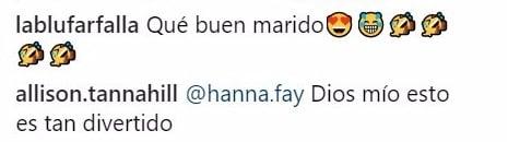 comentarios en Instagram