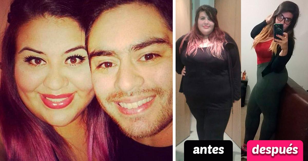 """Su esposo le fue infiel por ser """"gorda""""; ella pierde 60 kilos y le demuestra lo contrario"""