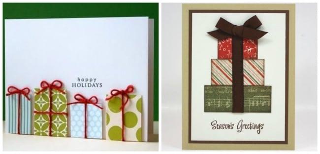 15 originales tarjetas que puedes regalar esta navidad - Tarjetas de navidad faciles ...