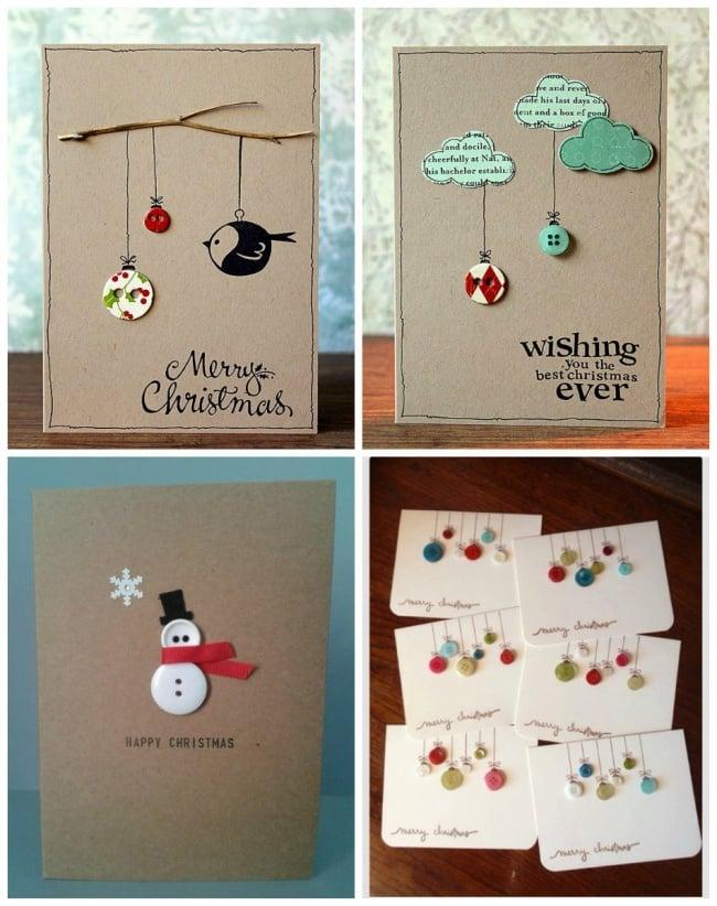 15 originales tarjetas que puedes regalar esta navidad - Hacer una tarjeta navidena ...