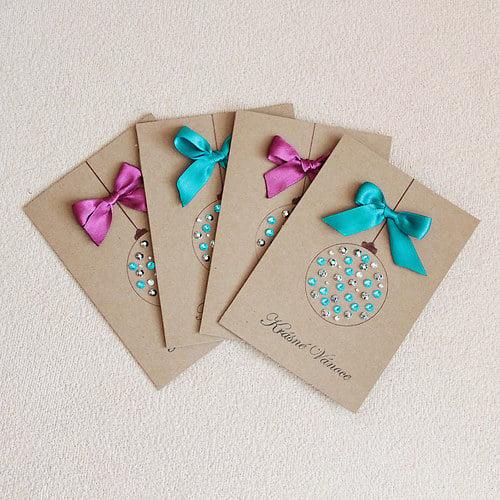 15 originales tarjetas navide as que puedes hacer t misma - Targetas de navidad originales ...
