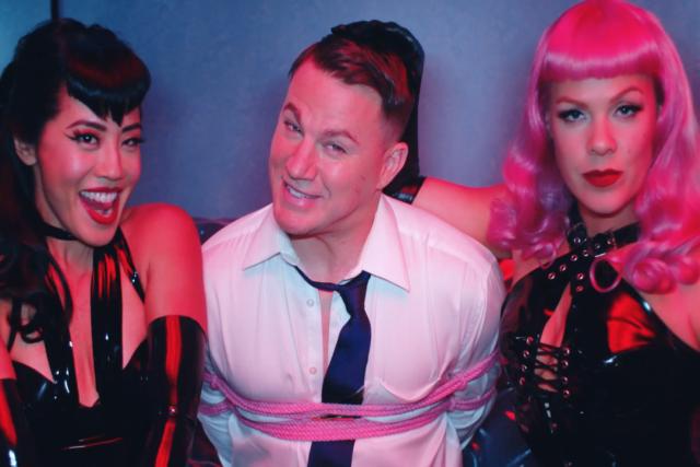 Nuevo video de Pink donde aparece con Chaning Tatum