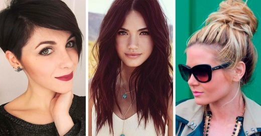 Tips para arreglar tu cabello y lucir un rostro más delgado