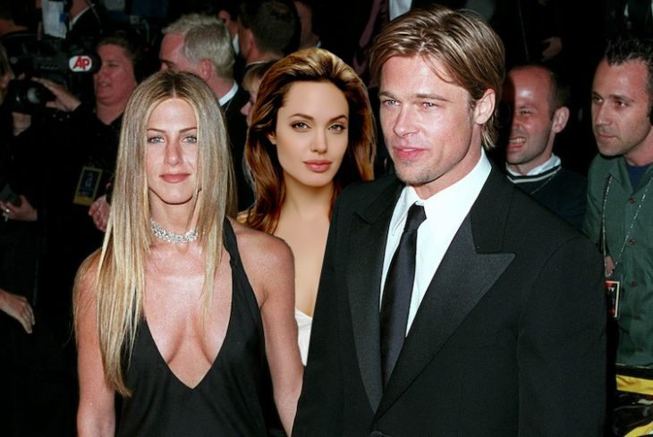 Brad Pitt, Angelina Jolie y Jennifer Aniston