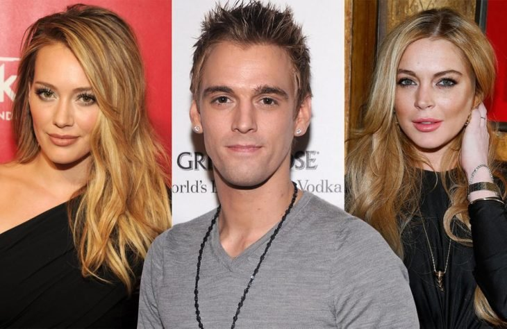 Hilary Duff - Aaron Carter - Lindsay Lohan
