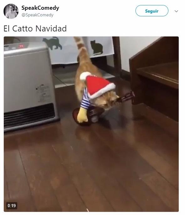 Tuit acerca de la navidad