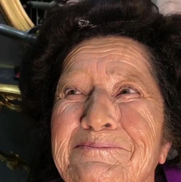 abuela makeover sonrisa