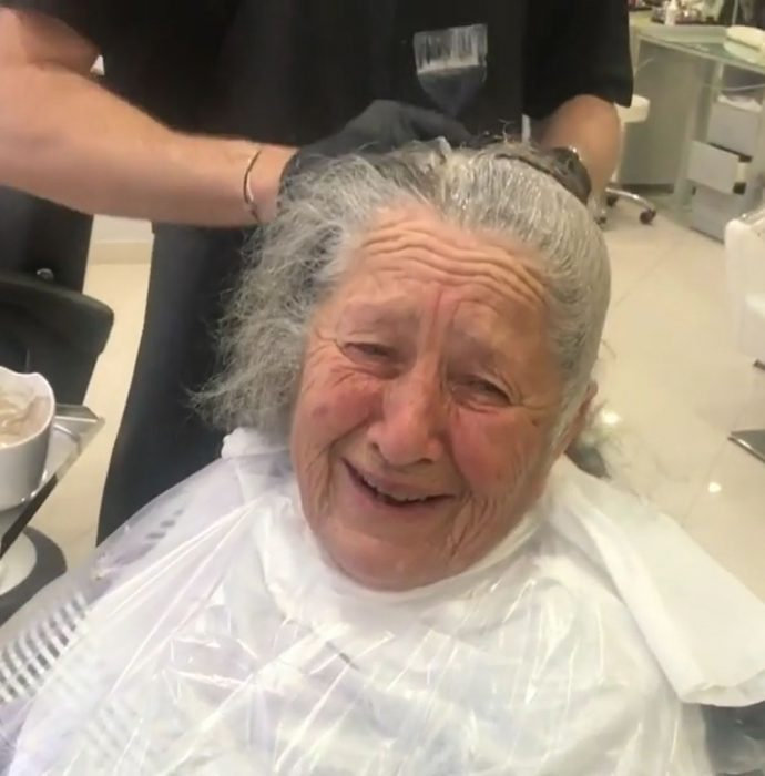 abuela makeover tinte