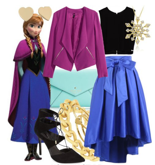 outfit inspirado en anna