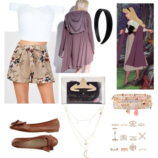 outfit inspirado en aurora