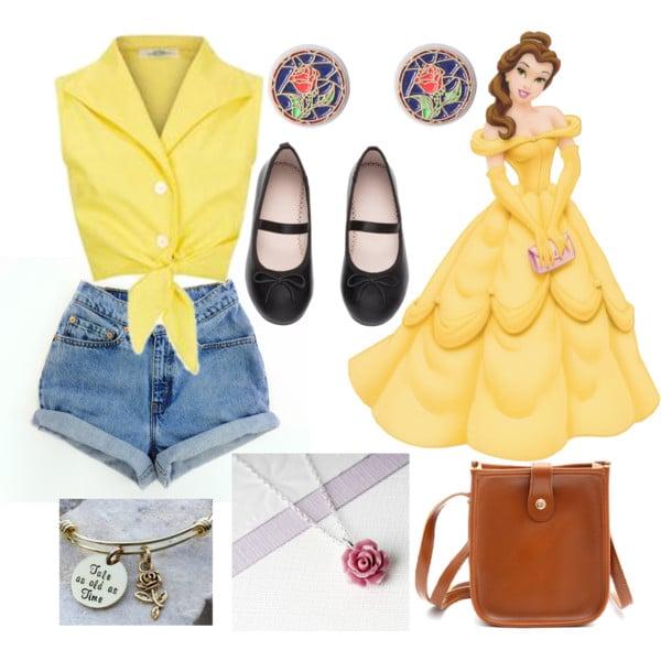 outfit inspirado en bella