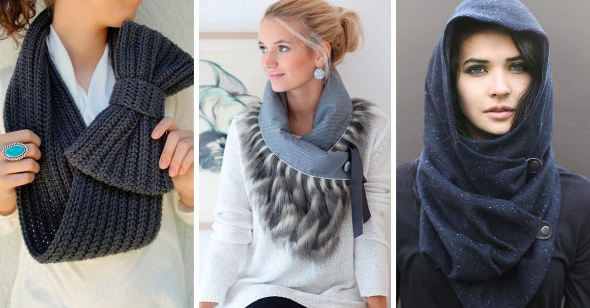 Originales bufandas que puedes llevar este invierno
