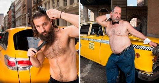 Taxistas de Nueva York posan en 'sexi' calendario; ¡ellos detendrán el tráfico en 2018!