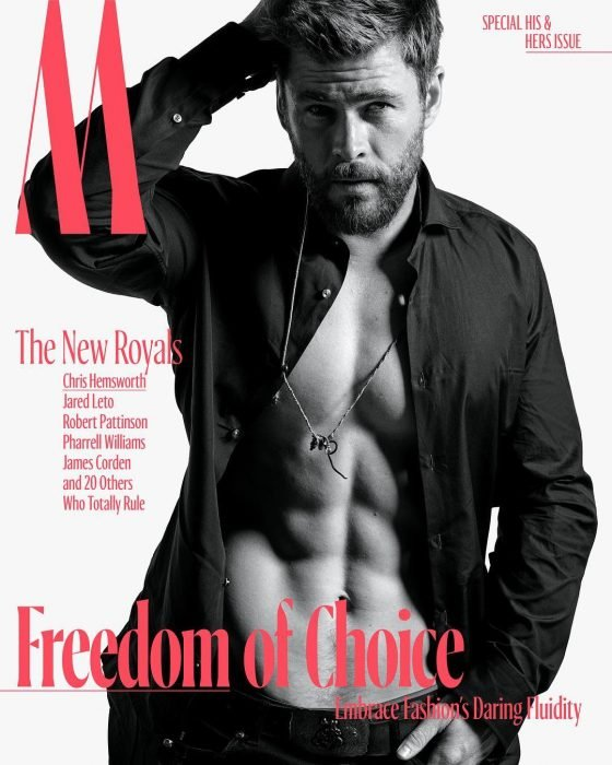 chris hemsworth portada de revista
