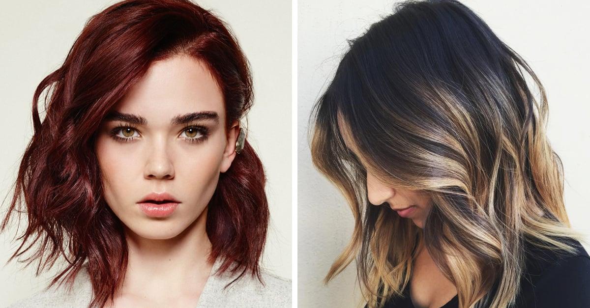 5 tonos de cabello que te harán lucir un rostro delgado