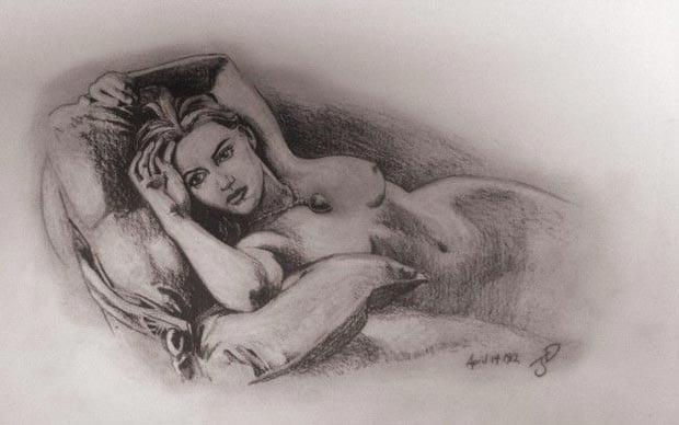 dibujo de rose