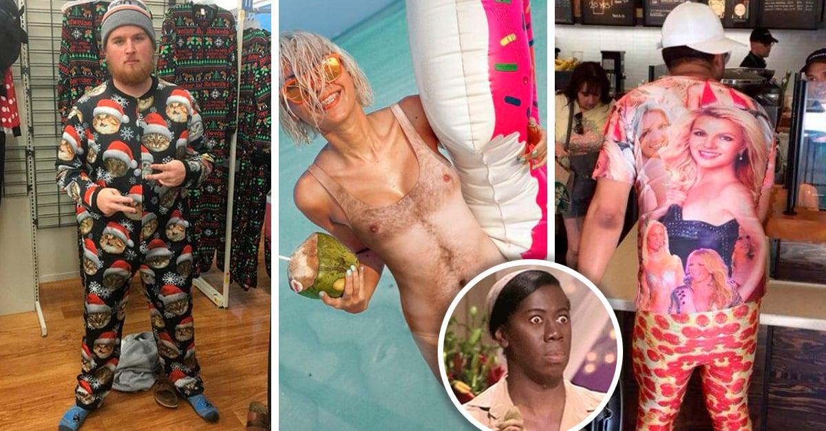 15 Ejemplos épicos de diseño de ropa donde no sabes si reírte o llorar