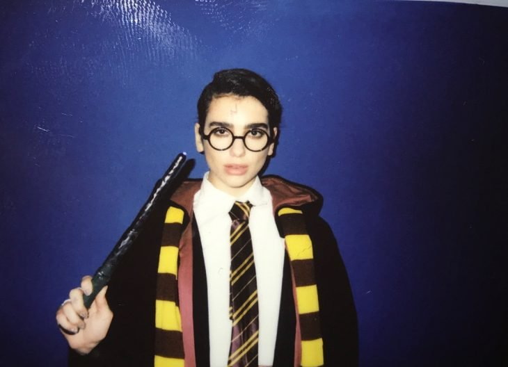 dua lipa de harry potter