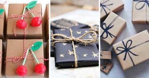 Ideas originales para envolver tus regalos esta navidad